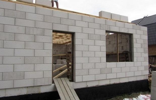 строительство из ячеистого бетона